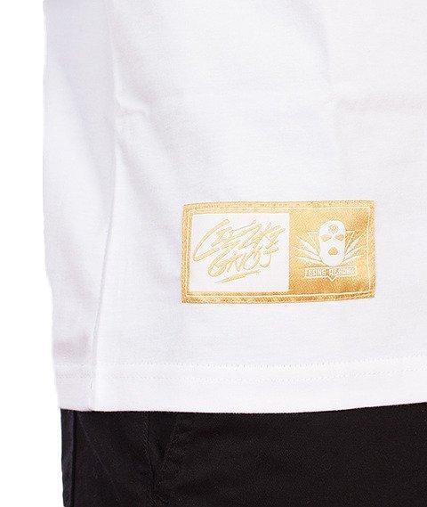 Gang Albanii-Big Kokz T-Shirt Biały