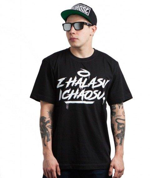 Gawrosz-Hałas i Chaos T-Shirt Czarny