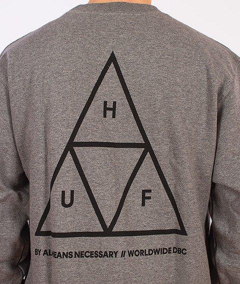 HUF-Triple Triangle Bluza Grafitowa