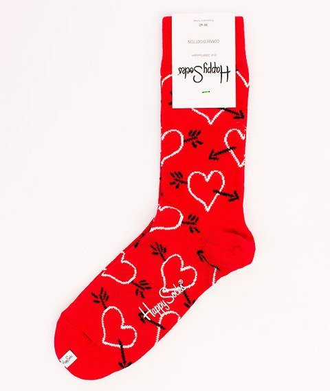 Happy Socks-Arrow & Heart [ARH01-4000]