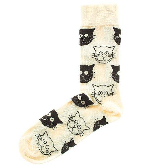 Happy Socks-Cat Skarpety [MJ01-100]