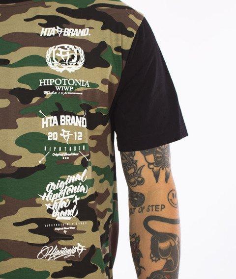 Hipotonia-HTA Logos T-shirt Camo/Czarny