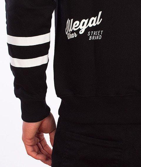 Illegal-#Illegal Line Bluza Z Kapturem Czarna
