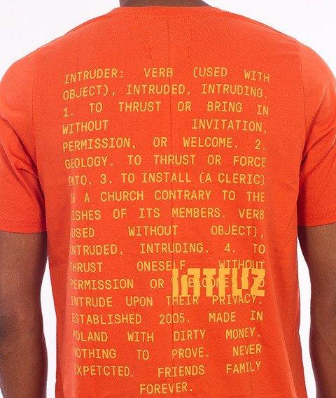 Intruz-Definition T-Shirt Pomarańczowy