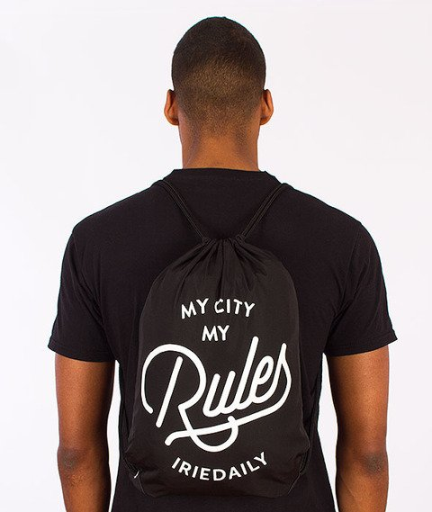 Iriedaily-City Rules Beutel Sports Bag Black