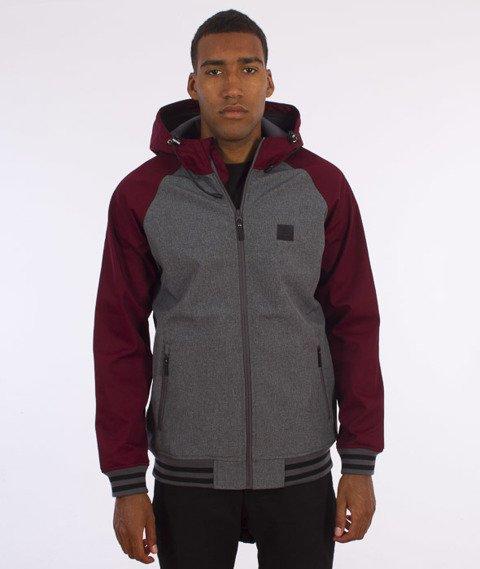 Iriedaliy-Fusion College Jacket Kurtka Anthra Red