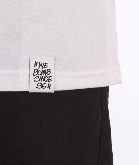 JWP-Gife Handstyle OFF T-shirt Biały
