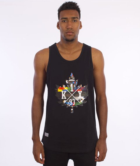 K1X-Glitch Logo Tank Top Black