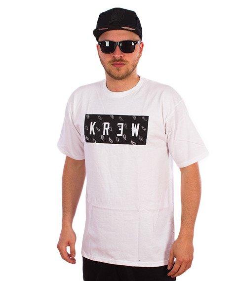KR3W-Paisley T-Shirt Biały