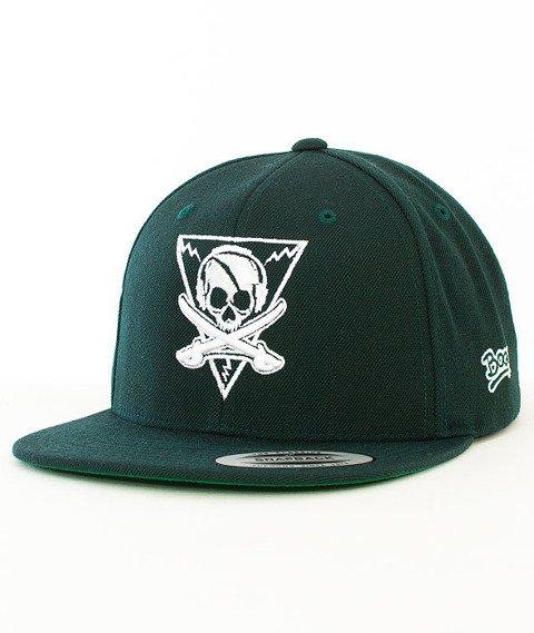 Labirynt-Pirat Snapback Zielony