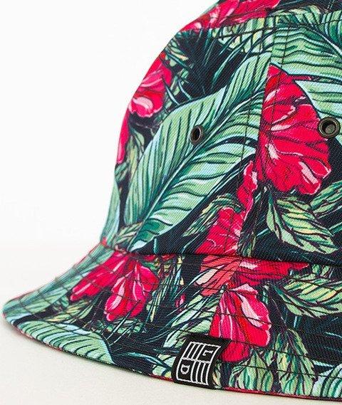 Lucky Dice-Flowers Summer Bucket Hat Multikolor