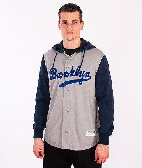 Majestic-Brooklyn Dodgers Hoodie Grey/Navy