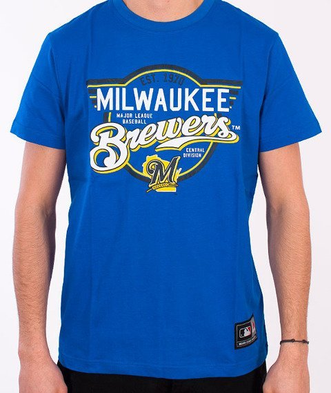 Majestic-Millwaukee Brewers T-shirt Blue