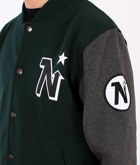 Majestic-Minnesotta North Stars Baseball Green/Grey