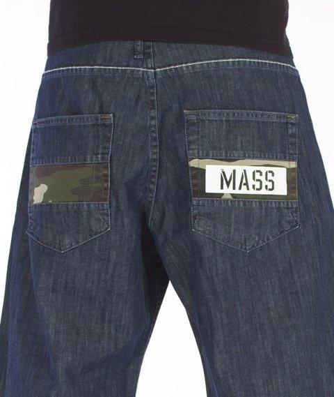 Mass-Battle Shorts Baggy Dark Blue
