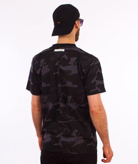 Mass-Classics T-shirt Camo/Czarny