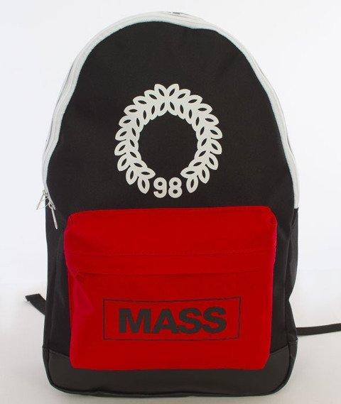 Mass-Conversion Backpack Plecak Czarny/Czerwony