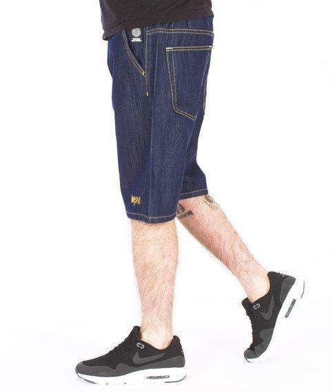 Mass-Signature Shorts Straight Rinse Blue