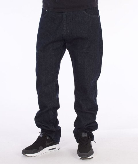 Mass-Stamp Regular Fit Jeans Rinse Blue