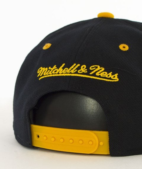 Mitchell & Ness-2 Tone Team Arch Los Angeles Lakers Snapback NA80Z Czarny/Żółty