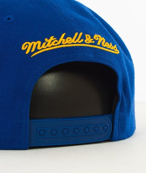 Mitchell & Ness-Golden State Warriors Solid Team Colour Snapback NL99Z Royal