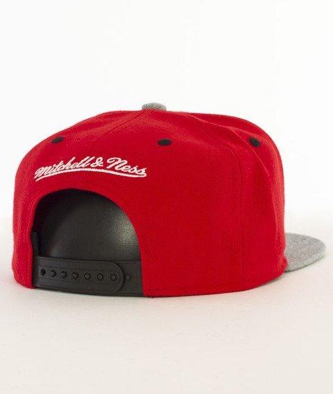 Mitchell & Ness-Greytist Chicago Bulls Snapback EU938 Czerwony/Szary
