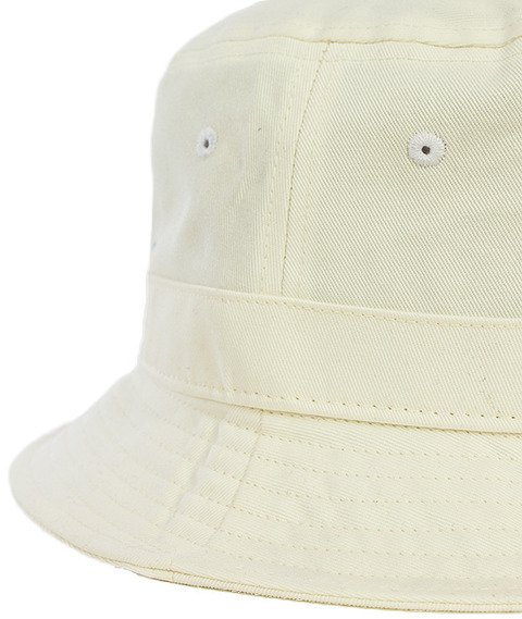 Mitchell & Ness-Label Logo Bucket Hat White EU488