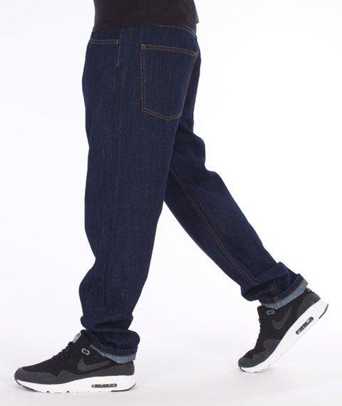 Moro Sport-78 Straight Fit Spodnie Ciemny Jeans