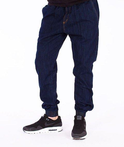 Moro Sport-Jogger Gym Spodnie Ciemny Jeans