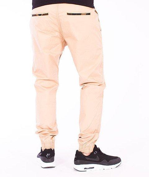 Moro Sport-Jogger Slim 2 Spodnie Beżowe