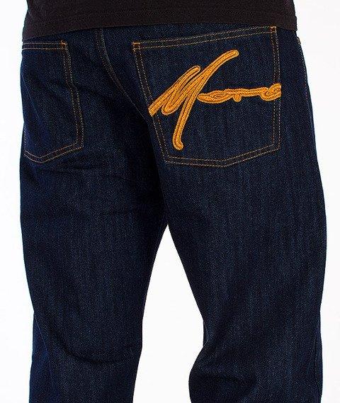 Moro Sport-Tag Spodnie Ciemny Jeans