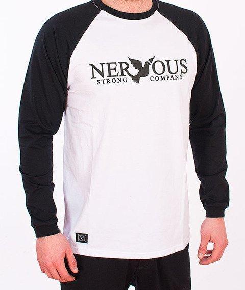 Nervous-Classic Longsleeve White/Black