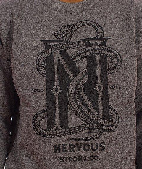 Nervous-Snake Bluza Szara