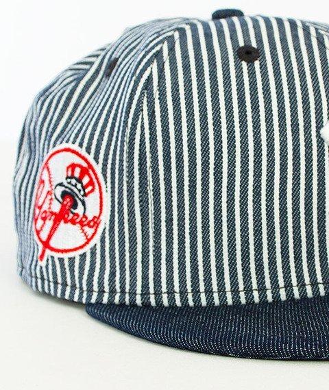 New Era-Pinstripe New York Yankees Snapback Denim/Pinstripe