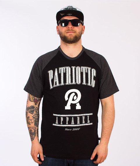 Patriotic-Apparel T-Shirt Czarny/Grafitowy
