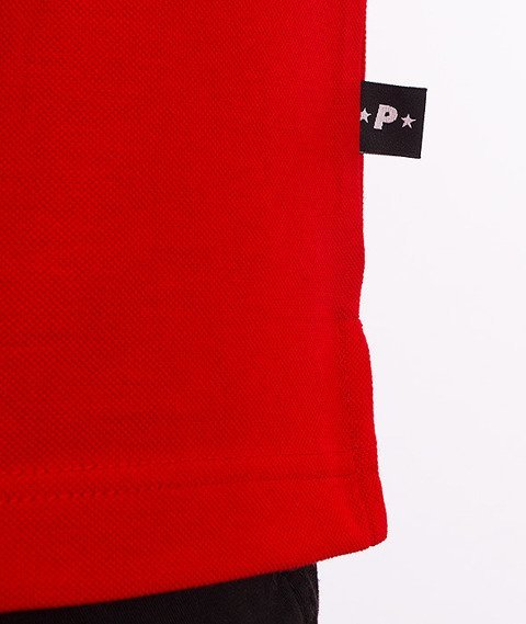 Patriotic-CLS Polo T-shirt Czerwony