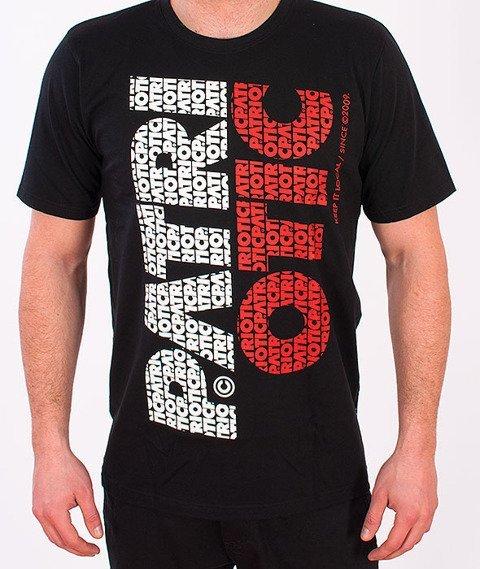 Patriotic-Fonts Pion T-shirt Czarny