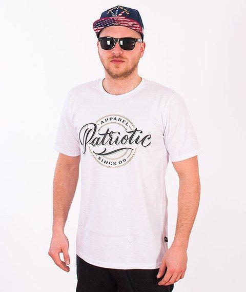 Patriotic-Herb T-shirt Biały