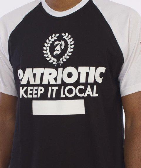 Patriotic-Laur T-Shirt Czarny/Biały