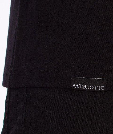 Patriotic-Skull New T-shirt Czarny