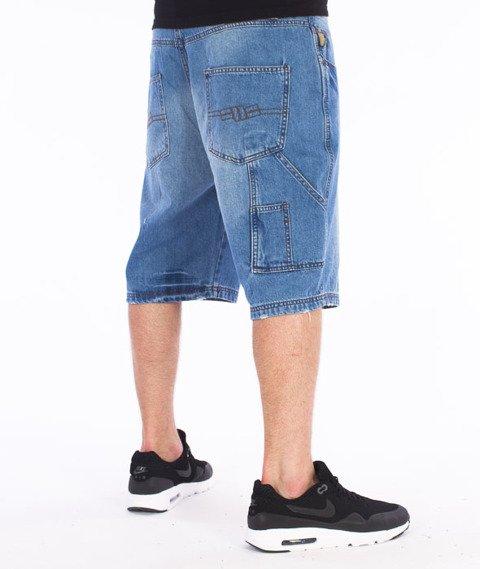 Pit Bull West Coast-Fist Spodnie Krótkie Jeans Średnie Spranie