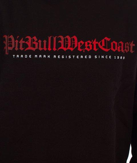 Pit Bull West Coast-Skull Dog Crewneck Bluza Czarna