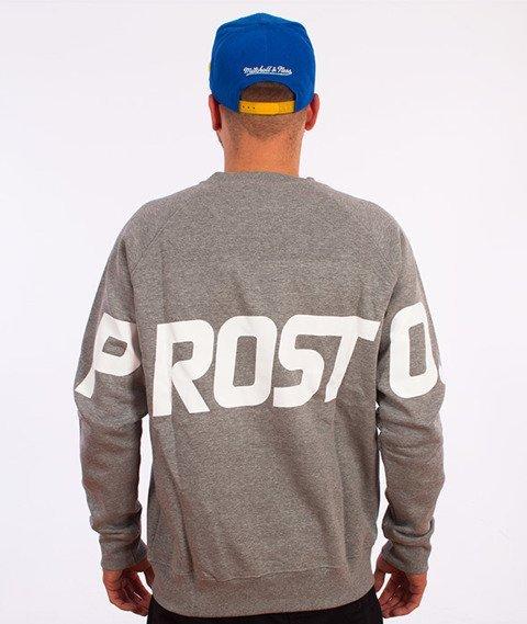 Prosto-Back Bluza Szara