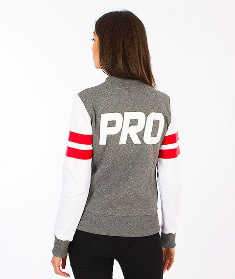 Prosto-Base Bluza Medium Heather Gray
