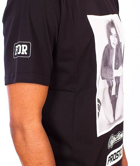 Prosto-Her Reflections T-Shirt Black
