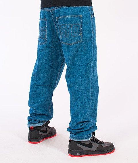 Prosto-KL Flavour Baggy Jeans Blue