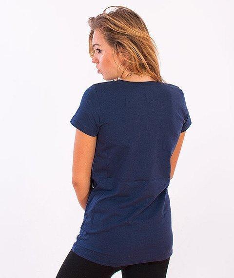 Prosto-KL Fresh T-shirt Damski Navy