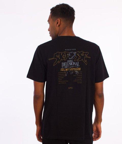 SK Posse-World Tour 2 T-Shirt Czarny