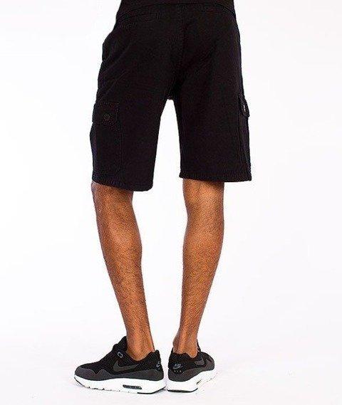 SmokeStory-Cargo Krótkie Spodnie Czarne