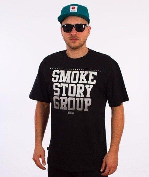 SmokeStory-Gradient T-Shirt Czarny